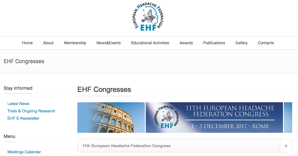 European Headache Federation
